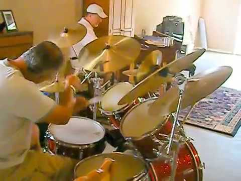 ISTVAN on DRUMS,  & JOHN  PAPI ,JAM SESSION
