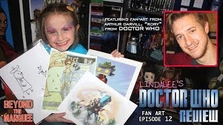 Doctor Whos Arthur Rory Darvill Draws For Lindalee On Fan Art Ep.12