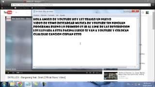 como descargar música de youtube sin programas