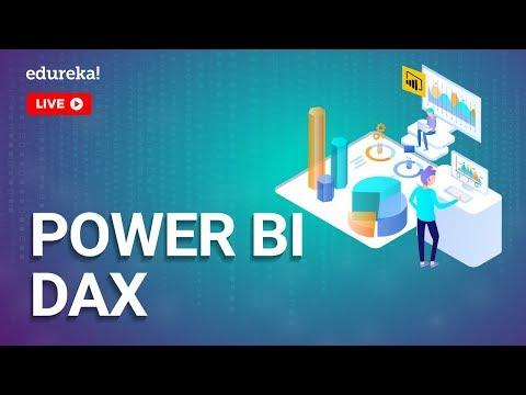 Power BI DAX Tutorial | Power BI Training | Edureka - 1 - YouTube