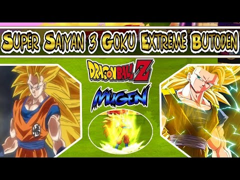 Mugen Char | Dragon Ball Super | Black Goku Extreme Butoden