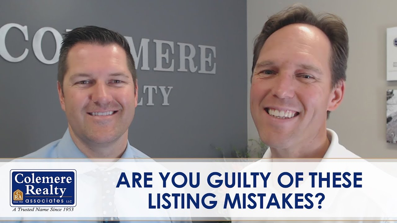 Listing Mistakes You Should Always Avoid