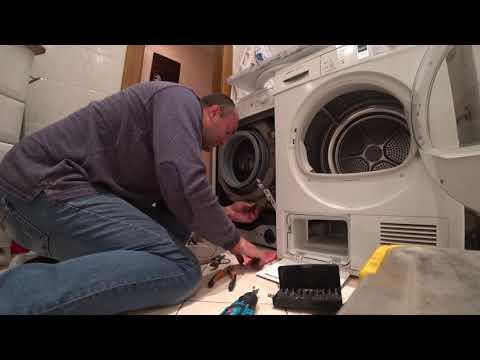 Стиральная машина Bosch не сливает воду.