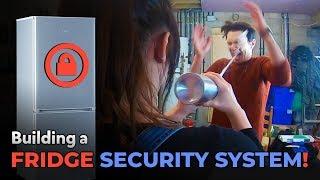 An Invention To Catch Fridge Thieves!  | Kids Invent Stuff