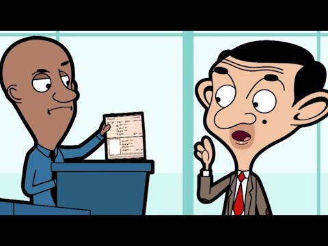 At the Airport | Funny Episodes | Mr Bean
