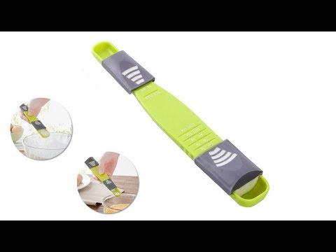 Adjustable Scale Measuring Metering Spoon In Gram Ml