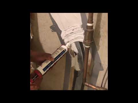 Sealing a Cracked Concrete Foundation