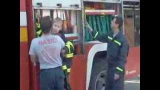 Patrik u hasičov v Trnave