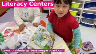 Literacy Centers In Action