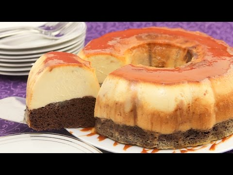 Video Chocolate Flan Cake