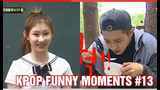 KPOP FUNNY MOMENTS PART 13 (TRY TO NOT LAUGH CHALLENGE)