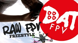Fpv freestyle - FPV flight, sun trees flips and rolls #fpvfreestyle