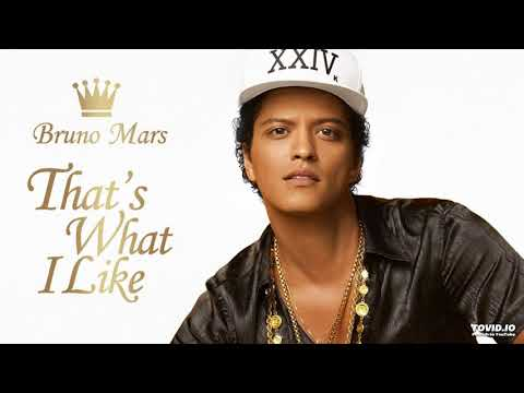That's What I Like - Bruno Mars (Official Clean Version)