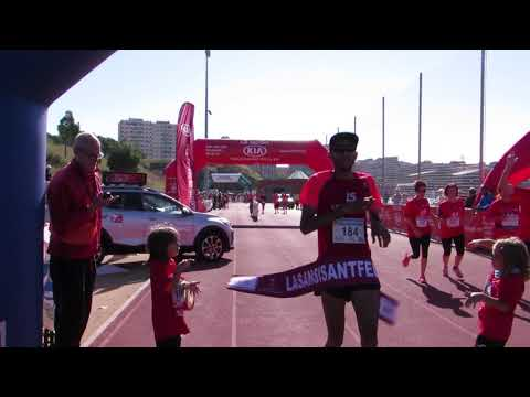 La Sansi Sant Feliu de Llobregat 2017 llegada del campeón 10km