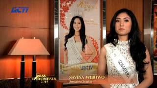 Savina Wibowo for Miss Indonesia 2015