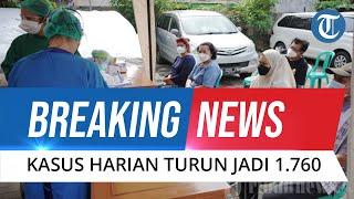 BREAKING NEWS: UPDATE Covid-19 Indonesia 26 September, Angka Positif Corona Tambah 1.760 Kasus