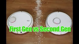 Xiaomi First vs Second Gen S50 RoboRock Comparison and Review