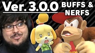 Patch 3.0 BUFFS & NERFS In Super Smash Bros. Ultimate