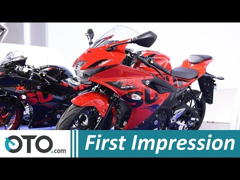 Suzuki GSX R150 | First Impression | Warna Baru | IIMS 2018 | OTO com