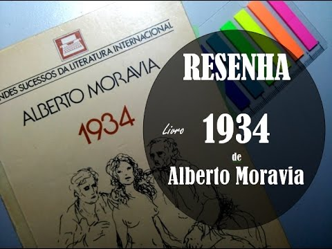 [Lendo Italianos] 1934 - Alberto Moravia [Resenha] Projeto 100 Autores #2