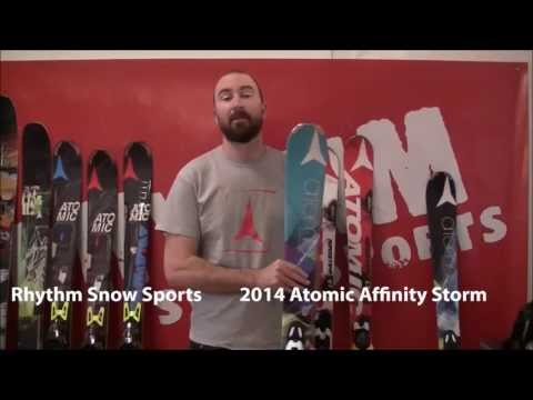 2014 Atomic Affinity Storm Ski Review