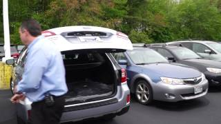 How To Set Rear Tailgate Height Subaru Outback