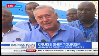 Coastal tourism center is set to receive a boost with the docking of cruise ship