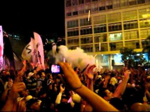 Sabe o que é uma Festa de Centenário pra valer? Olhe a do Timão no Anhangabaú!