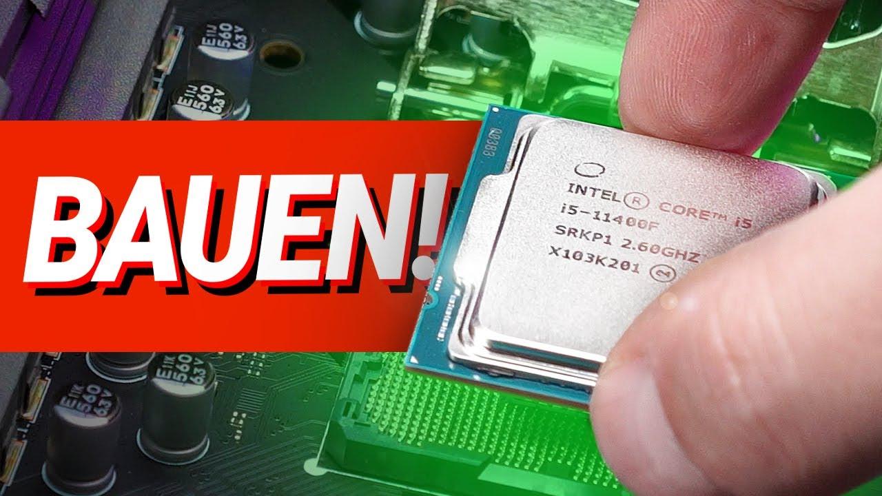 PC Zusammenbauen 2021!! - ANLEITUNG für Intel & AMD (Deutsch)