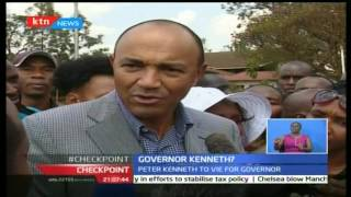 CheckPoint: Peter Kenneth to now run for the gubernatorial seat and not presidential