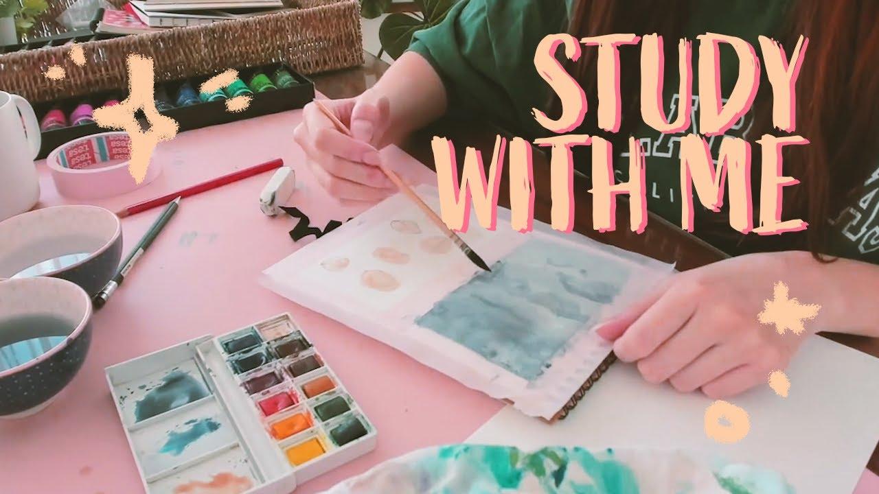 STUDY WITH ME | Étudies, travailles, dessines, lis ... avec moi ! 📖