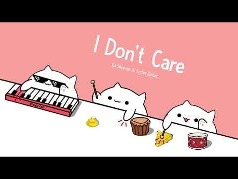 Bongo Cat - I Don't Care | Ed Sheeran & Justin Bieber