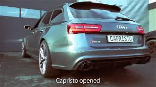 Video: Video zur Capristo Anlage für den Audi RS6 C7 und RS7 Sportback