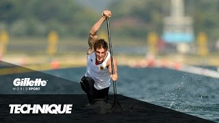 Sprint Canoe Technique with Olympic Champion Sebastian Brendel | Gillette World Sport