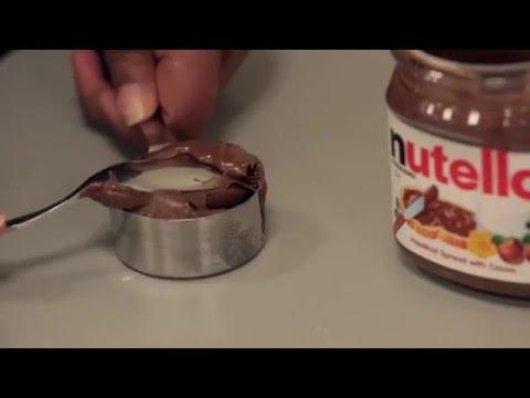 4-Ingredient Nutella Mug Cake