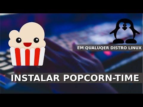 Instalar Popcorn-Time no Linux - Maquina Testada Ubuntu 18.10