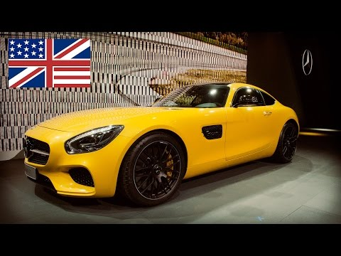2014 Mercedes-AMG GT world premiere / debut / walk around