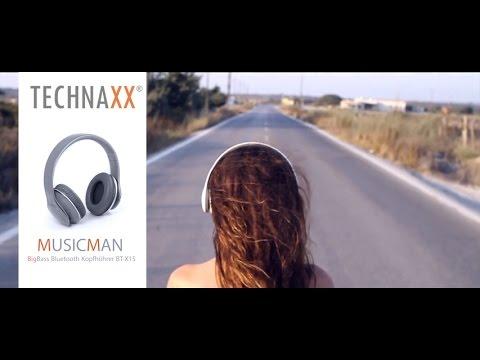 Technaxx MusicMan BT-X15 BigBass Bluetooth Kopfhörer