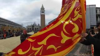 Carnevale di Venezia 2017 Vr 360° - Svolo del leon