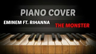 Eminem ft.  Rihanna  - The Monster - Piano Cover