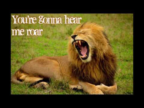 Roar-Katy Perry (lyrics)
