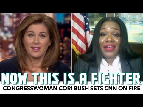 Cori Bush Sets CNN On Fire