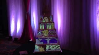Projection Wedding Cake Showcased At The Disney Fairytale Wedding Showcase