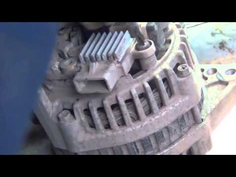 Ремонт генератора Daewoo Nexia 1,5 8v  Видео обзор ремонта генератора