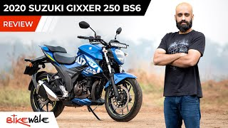 2020 Suzuki Gixxer 250 BS6 Review | Is It Worth Over The Bajaj Dominar 250 | BikeWale