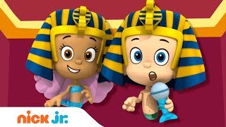 'Travel Adventures'  Music Video 🌎 W/ Bubble Guppies! | Stay Home #WithMe | Nick Jr. Sings 🎶