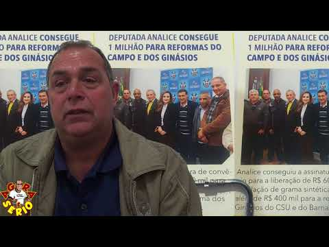Depois da Decepção do 1 milhão da Deputada Estadual Analice Fernandes , Secretário de Esportes e Turismo Mauro Ramos volta a sorrir com a Conquista de 4 milhão