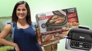 Ninja Foodi Grill vs Propane Gas Grill - How Does it Hold Up? | Mom's Unboxing, Review's and Demos