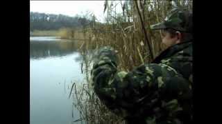 Ловля на мормышку осенью с берега