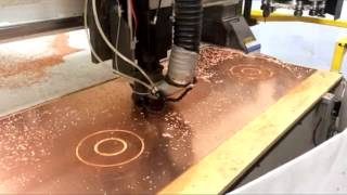 CNC Routing of Copper